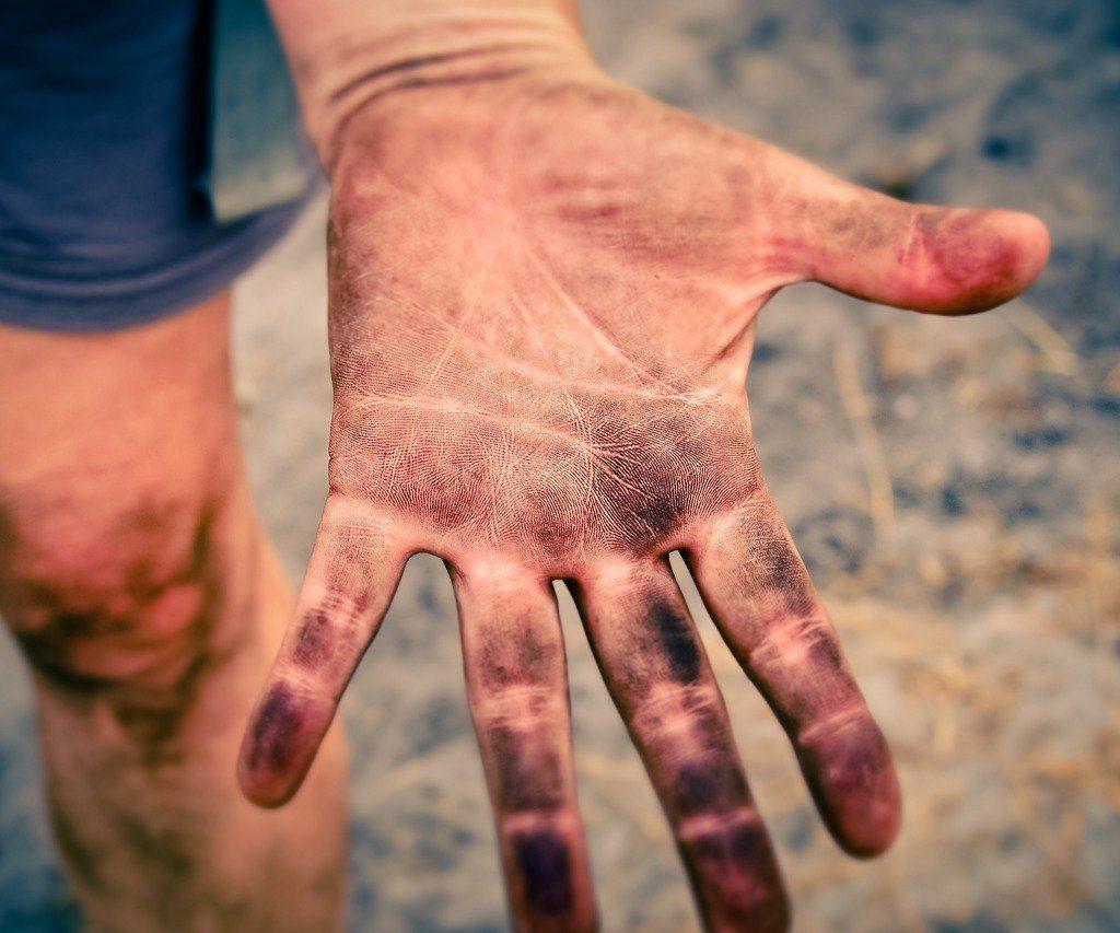 Gymnasiastenhände