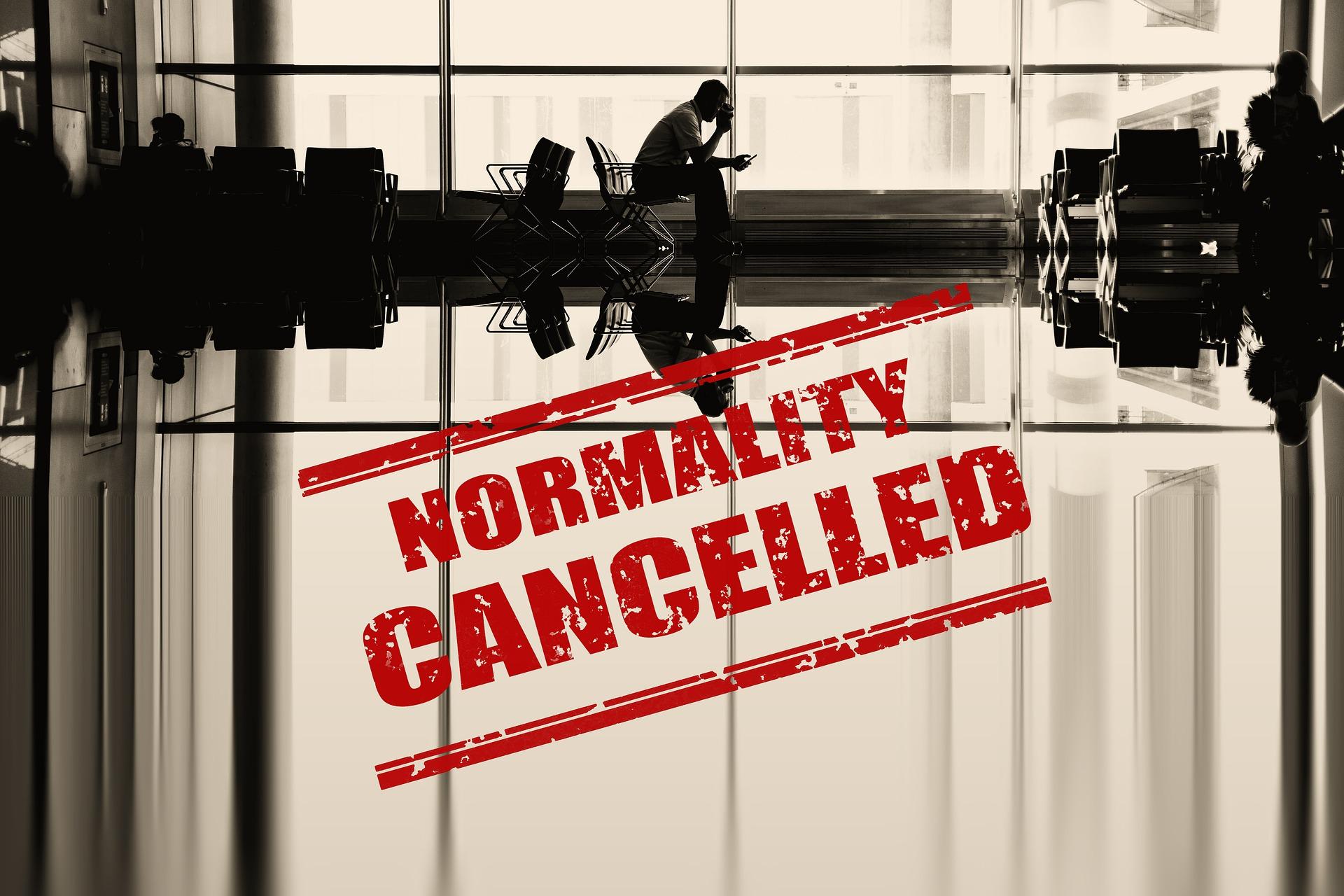 normality cancelled von Gerd Altmann auf Pixabay