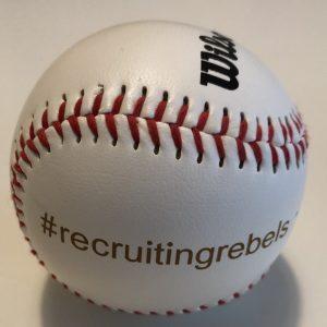 Baseball der #recruitingrebels als Erinnerung an das Ball and Bat problem von Hahnemann und Tversky